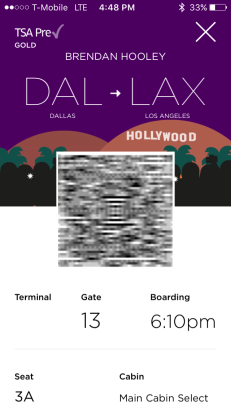 Best part about the app? animated boarding passes. Way more fun than the passbook ones.